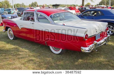 1955 Ford Crown Victoria Side View
