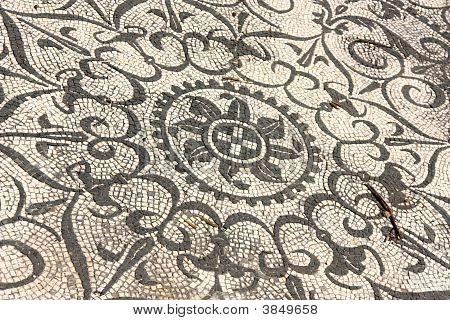 Villa Adriana Roman Mosaics Italy  Version 2