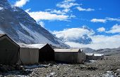 picture of sherpa  - North Base Camp of Mount Everest in Tibet - JPG