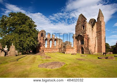 Arbroath Abbey, Angus, Scotland