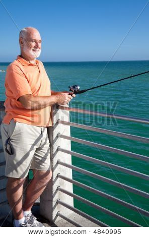 Senior Loves To Fish