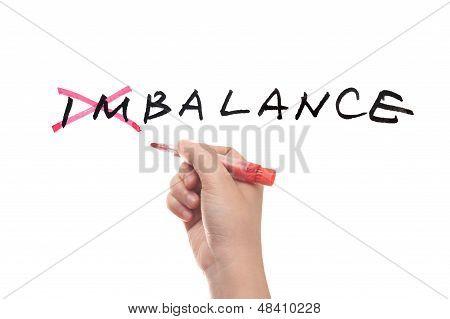 Imbalance To Balance Concept