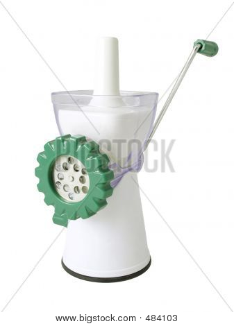 Picture or Photo of Plastic meat grinder