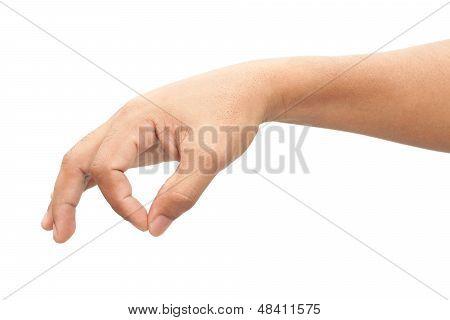 Man Hand Sign