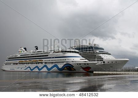 Aida Aura is one of the famous passenger cruise ships from AIDA Cruises