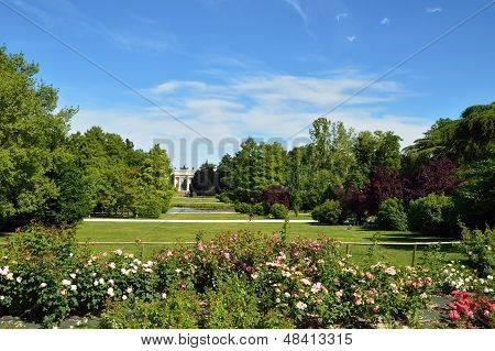 City Park In Milan