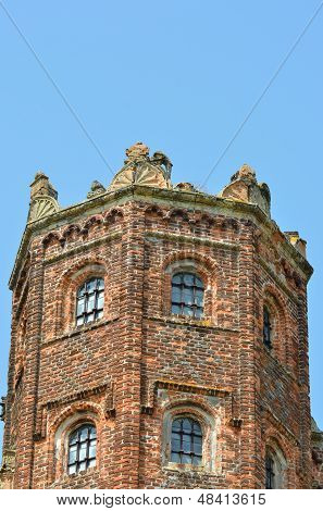 Detail of Elizabethan tower