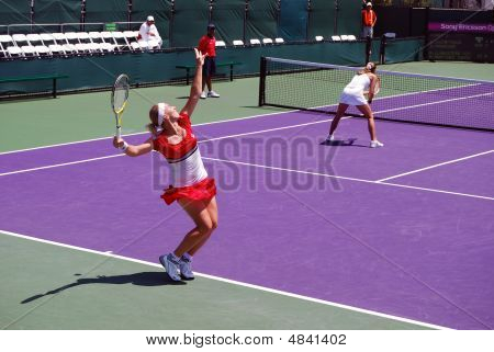 Svetlana Kuznetsova Serving Toss