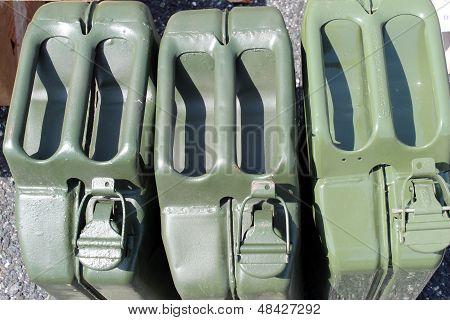 military gas tanks