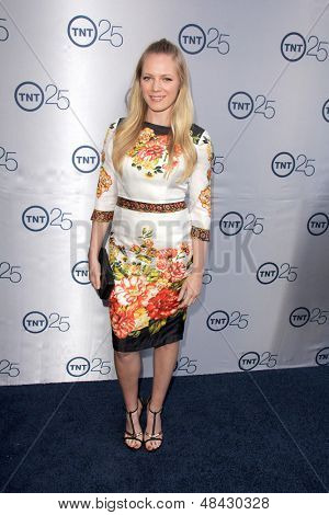 LOS ANGELES - JUL 24:  Emma Bell arrives at TNT's 25th Anniversary Party at the Beverly Hilton Hotel on July 24, 2013 in Beverly Hills, CA