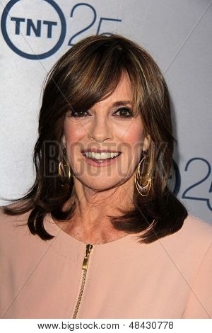 LOS ANGELES - JUL 24:  Linda Gray arrives at TNT's 25th Anniversary Party at the Beverly Hilton Hotel on July 24, 2013 in Beverly Hills, CA
