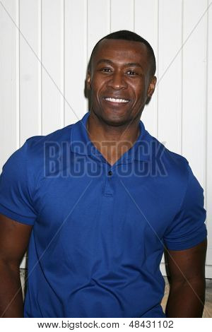 LOS ANGELES - JUL 25:  Sean Blakemore arrives at the General Hospital Fan Club Kickoff Party at the Sportsman's Lodge on July 25, 2013 in Studio City, CA