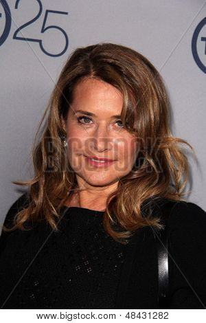 LOS ANGELES - JUL 24:  Lorraine Bracco arrives at TNT's 25th Anniversary Party at the Beverly Hilton Hotel on July 24, 2013 in Beverly Hills, CA