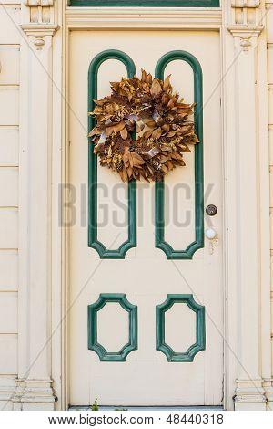 Victorian Style Wooden Door