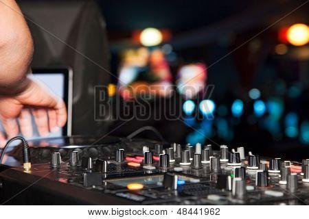 festas Discoteca DJ. equipamento de som