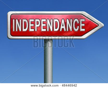 independence day revolution to become independent sovereign state or nation sovereignty freedom referendum