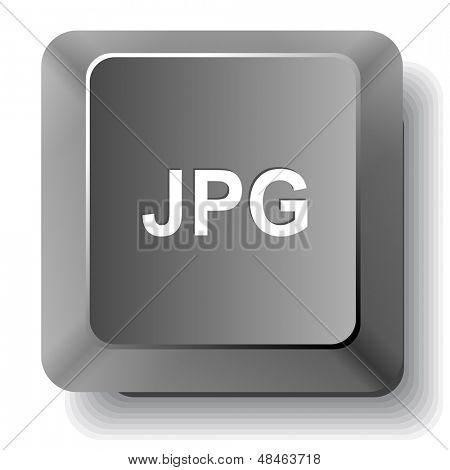 Jpg. Raster computer key.