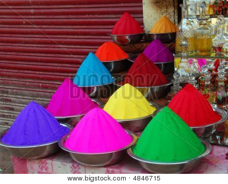 Color Powder For Holi Festival