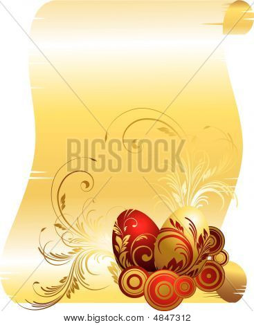 Gold Skroll