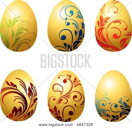 Set Of Vector Egg