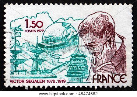 Postage Stamp France 1979 Victor Segalen, Physician, Explorer