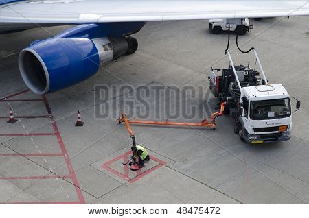 Airplane Refuelling