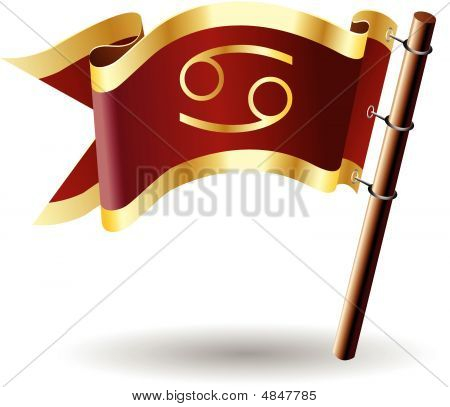Royal-flag-astrology-sign-cancer