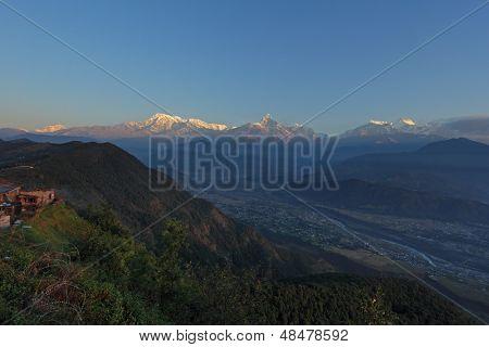 annapurna view from sarangkot-pokhara, Nepal