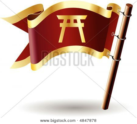 Royal-flag-faith-shinto
