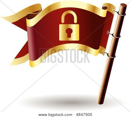 Royal-flag-lock-secure-safe