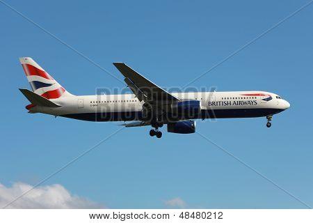 British Airways Boeing 767-300Er