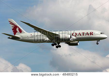 Qatar Airways Boeing 787 Dreamliner