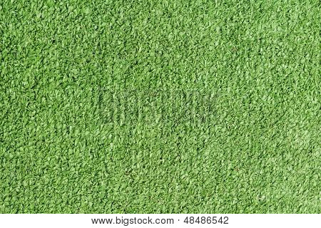 Background Texture With Fake Grass