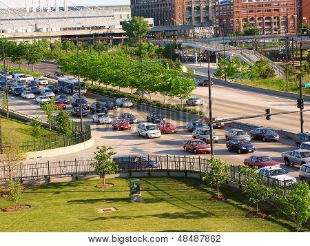 Chicago Lake Shore Drive Traffic