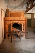 The Crematorium Oven In Dachau