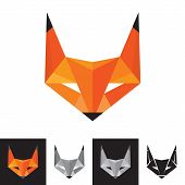 Fox Logo - Geometric Sign
