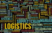 image of logistics  - Logistics in SCM and DCM Business Concept - JPG