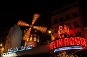 picture of moulin rouge  - PARIS  - JPG