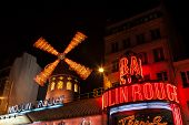 pic of moulin rouge  - PARIS  - JPG