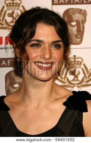 LOS ANGELES - NOVEMBER 2: Rachel Weisz at the 2005 BAFTA/LA Cunard Britannia Awards at Hyatt Regency Century Plaza Hotel on November 2, 2006 in Century City, CA.