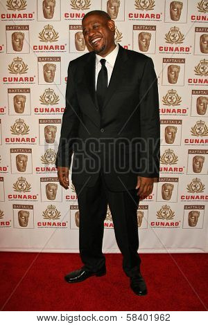 LOS ANGELES - NOVEMBER 2: Forest Whitaker at the 2005 BAFTA/LA Cunard Britannia Awards at Hyatt Regency Century Plaza Hotel on November 2, 2006 in Century City, CA.