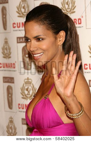 LOS ANGELES - NOVEMBER 2: Halle Berry at the 2005 BAFTA/LA Cunard Britannia Awards at Hyatt Regency Century Plaza Hotel on November 2, 2006 in Century City, CA.