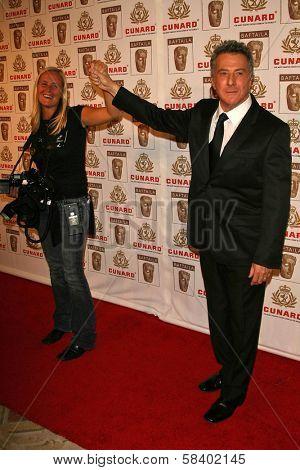 LOS ANGELES - NOVEMBER 2: Dustin Hoffman at the 2005 BAFTA/LA Cunard Britannia Awards at Hyatt Regency Century Plaza Hotel on November 2, 2006 in Century City, CA.