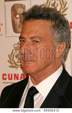LOS ANGELES - NOVEMBER 2: Dustin Hoffman at the 2005 BAFTA/LA Cunard Britannia Awards at Hyatt Regency Century Plaza Hotel on November 2, 2006 in Century City, CA.