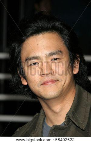 LOS ANGELES - NOVEMBER 13: John Cho at the Helio Drift Launch Party at 400 South La Brea on November 13, 2006 in Los Angeles, CA.