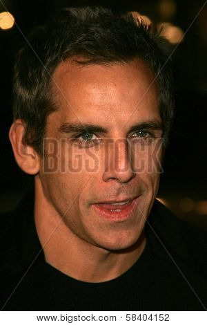 LOS ANGELES - NOVEMBER 09: Ben Stiller at the Los Angeles Premiere of