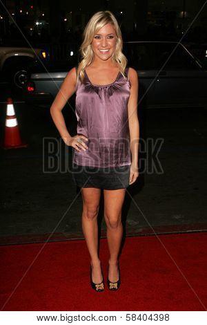 LOS ANGELES - NOVEMBER 09: Kristin Cavallari at the Los Angeles Premiere of