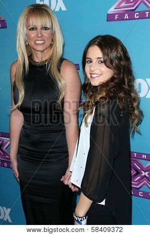 Britney Spears, Carly Rose Sonenclar at the
