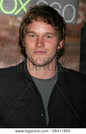 HOLLYWOOD - OCTOBER 25: Chris Pratt at the launch for the Xbox 360 game