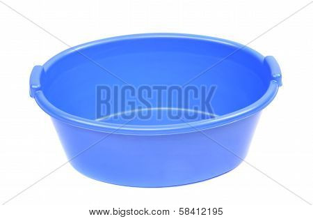 Blue washbowl